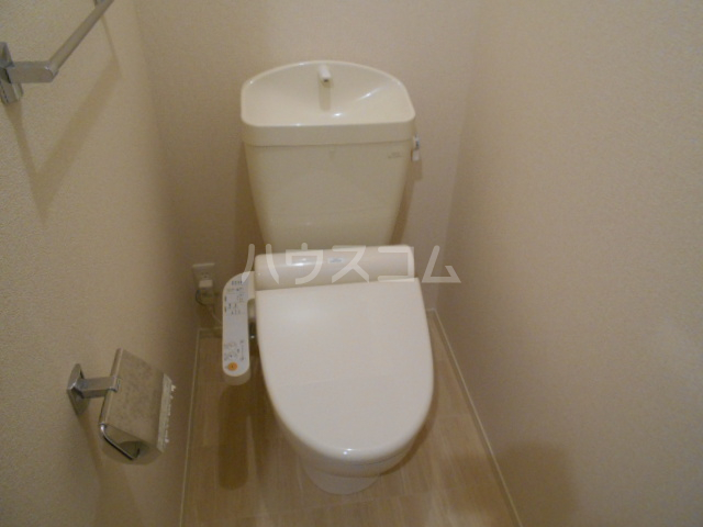 ヴァン オーキッド 201号室のトイレ
