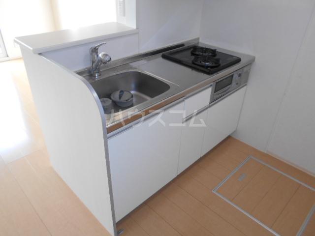 グランド南 103号室のキッチン