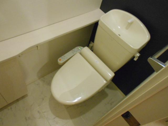 ウィズ ウィンド 203号室のトイレ