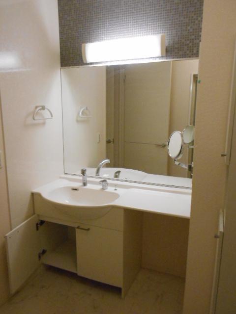 ウィズ ウィンド 203号室の洗面所