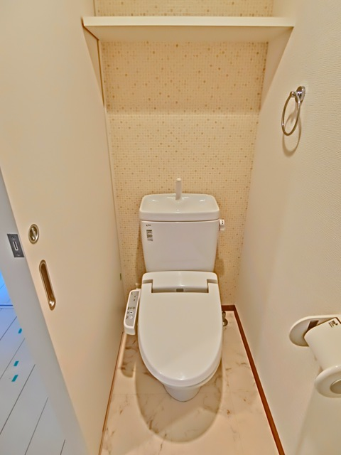 ラファセ九大病院前 603号室のトイレ