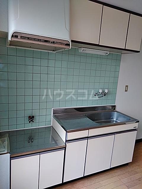 ロイヤルパール 402号室のキッチン