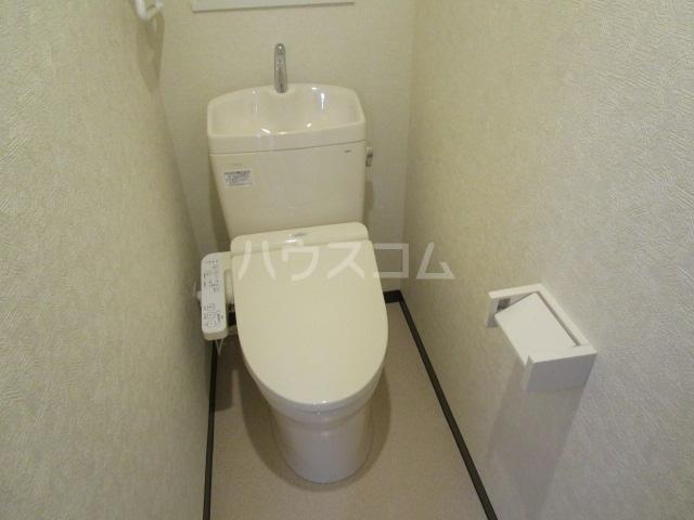 第3小柳コーポ 107号室のトイレ