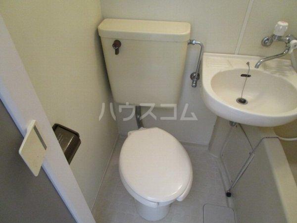 ラフォーネ国分寺 103号室のトイレ