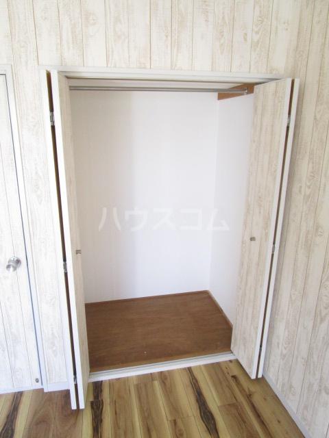 カーサ元町 A-202号室の収納
