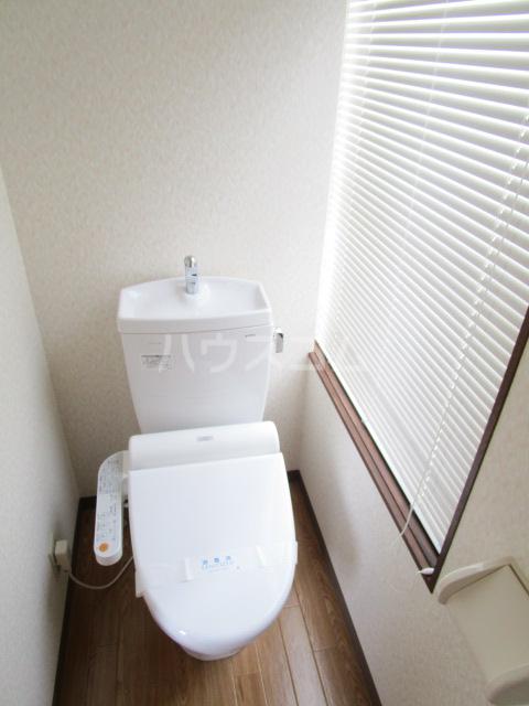 足立ハウス 2F号室のトイレ