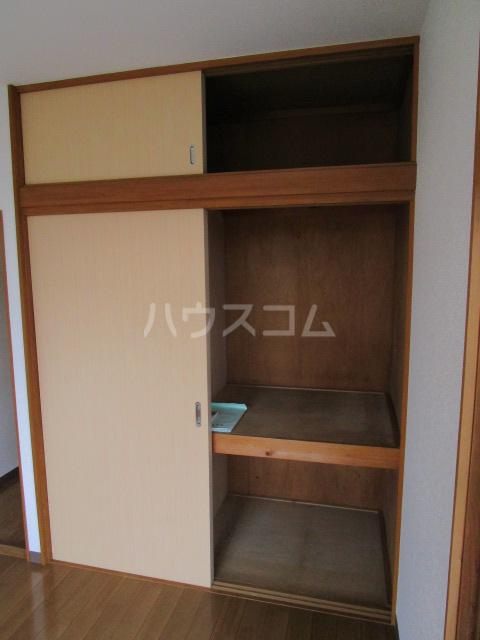 足立ハウス 2F号室の収納