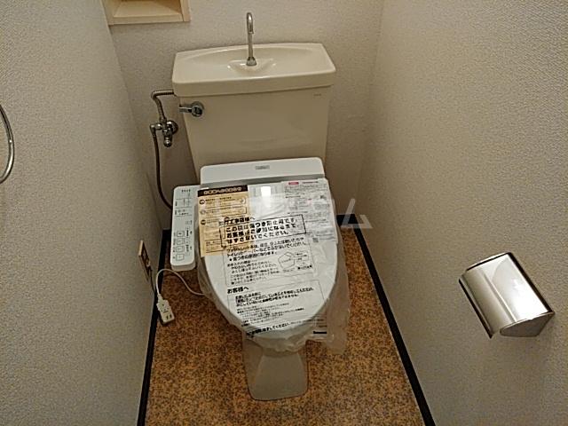 藤が丘ロイヤルマンション 603号室のトイレ