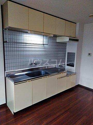 アビタシオン1棟 406号室のキッチン