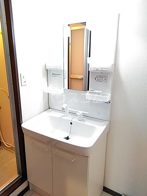 アビタシオン1棟 406号室の洗面所