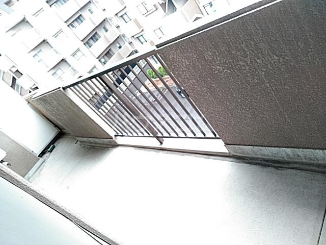 アビタシオン1棟 406号室のバルコニー