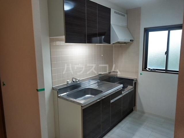 コートアルカディア A棟 201号室のキッチン