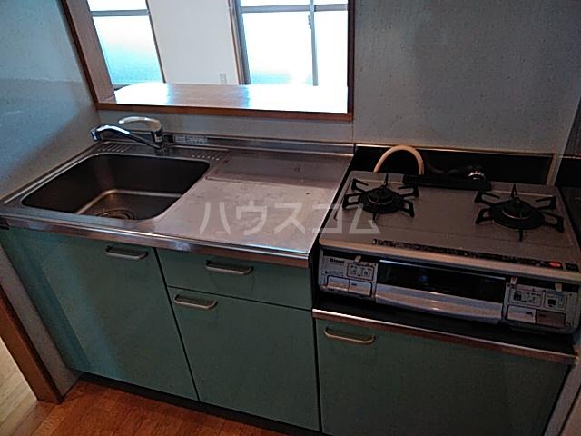 アルシエーロ城西 201号室のキッチン