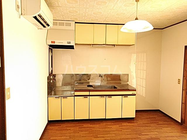 ガーデン文ヶ岡 A 205号室のキッチン
