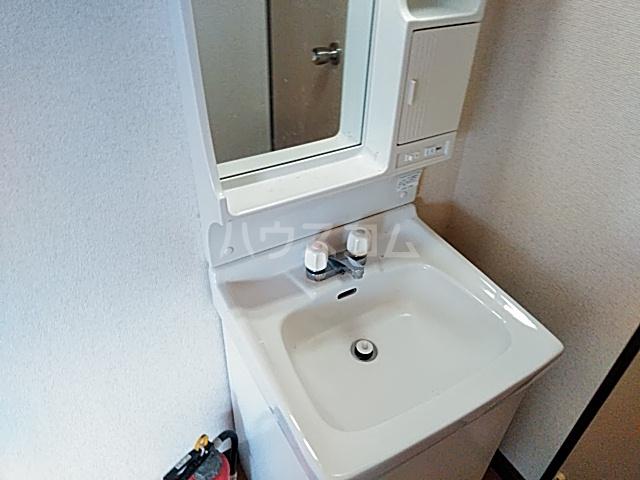 カトレアハイツ 202号室の洗面所
