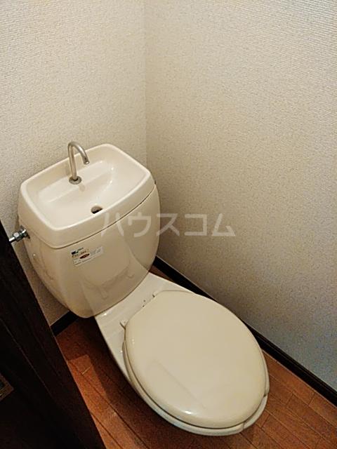 カトレアハイツ 202号室のトイレ