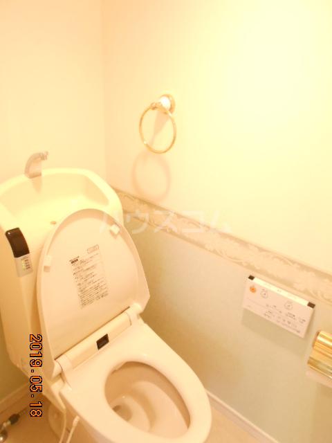 コラーレ二俣川 102号室のトイレ
