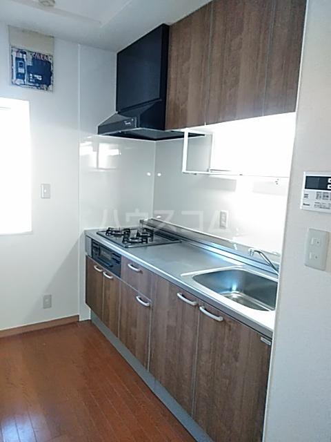グランプラス 206号室のキッチン