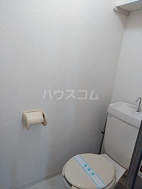 グランプラス 206号室のトイレ