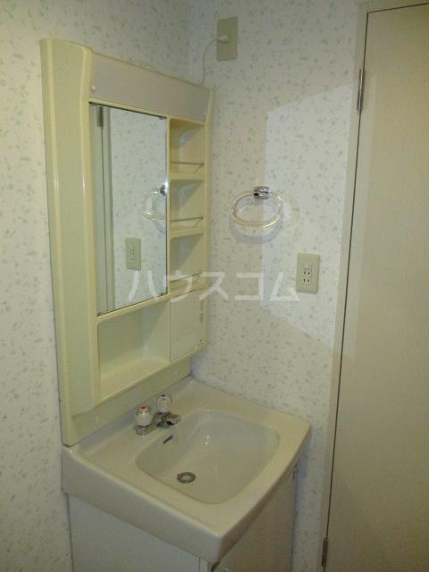 プレテラス緑園 204号室の洗面所