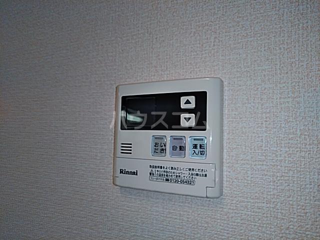 ソレイユB 103号室の設備
