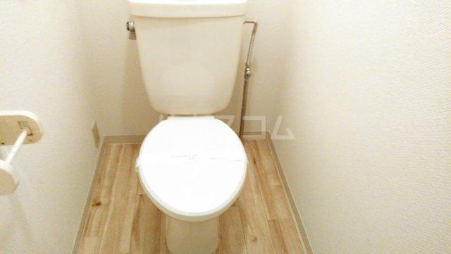 ビレッジハウス川井宿5号棟 404号室のトイレ