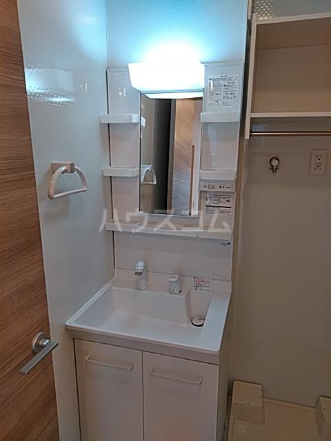 ラマージュ Ⅷ 203号室の洗面所
