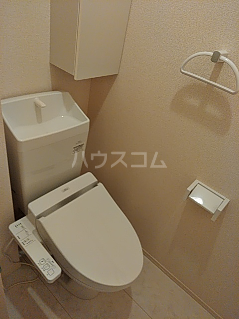 ラマージュ Ⅷ 203号室のトイレ