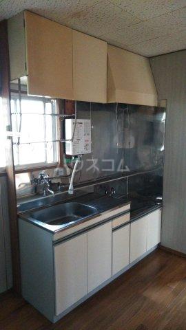 第三光ハイツ 101号室のキッチン