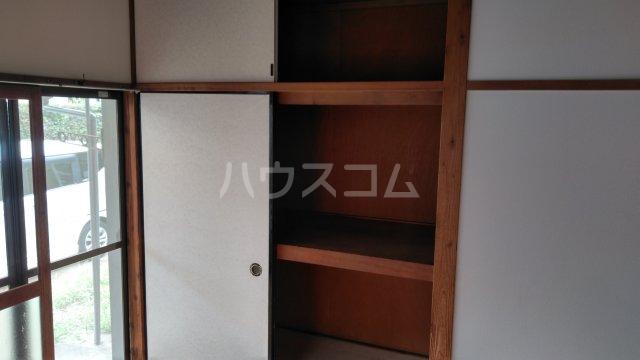 小袋荘 1号室の収納
