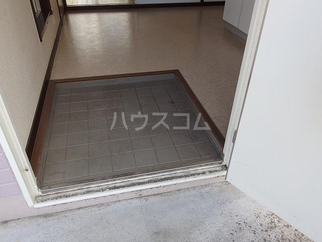 ピアシティナカムラ 203号室の玄関
