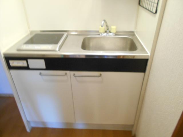 コートビレッジ桜ヶ丘パートⅡ A103号室のキッチン