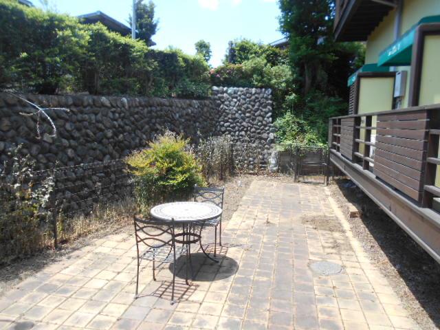 コートビレッジ桜ヶ丘パートⅡ A103号室の庭