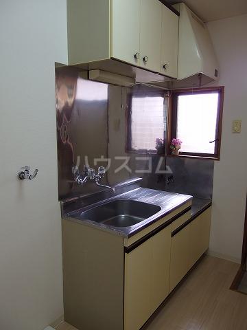コートカメリア 206号室のキッチン