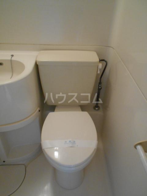 向ノ岡ハイツ1号棟 212号室のトイレ