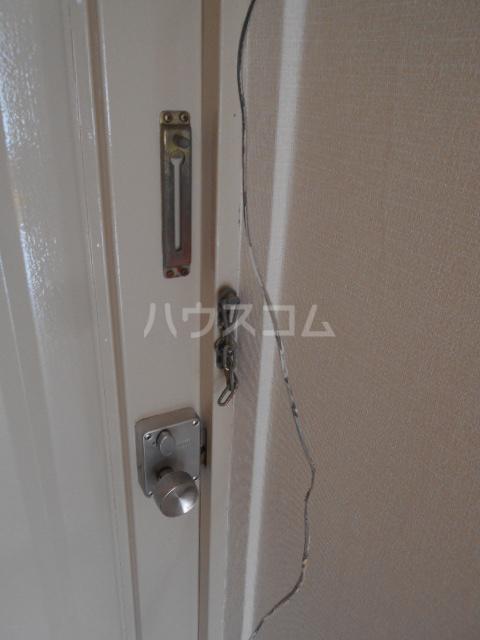 向ノ岡ハイツ1号棟 212号室のセキュリティ