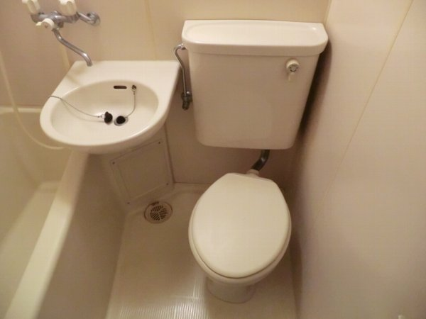 檜の森ハイツ 106号室のトイレ