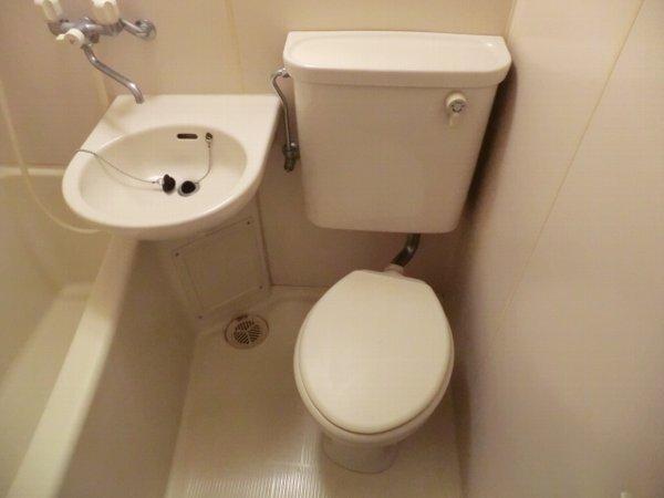 檜の森ハイツ 108号室のトイレ