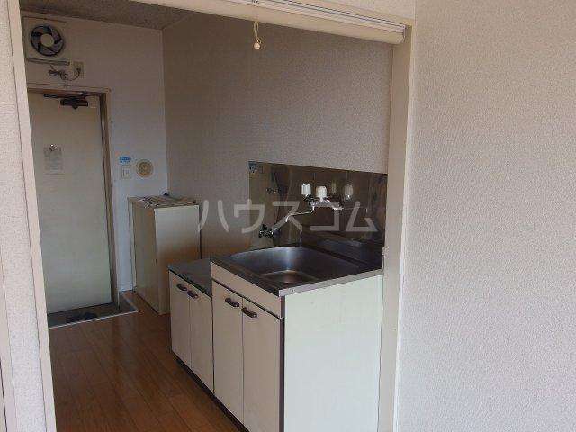 セントラルマンション 401号室のキッチン