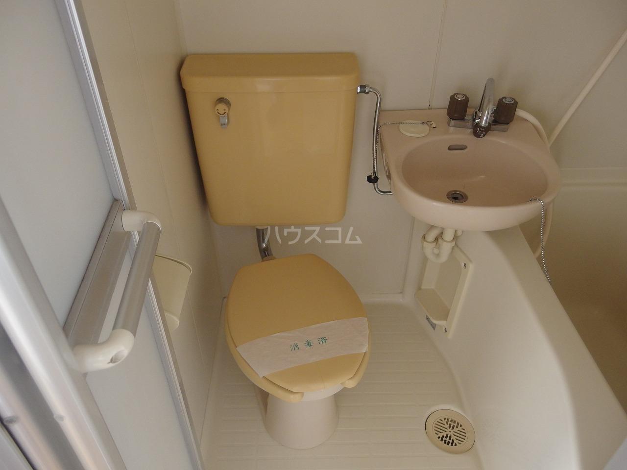 セントラルマンション 401号室のトイレ