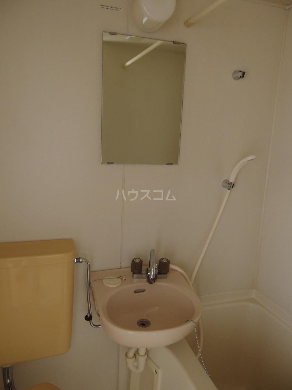 セントラルマンション 401号室の洗面所
