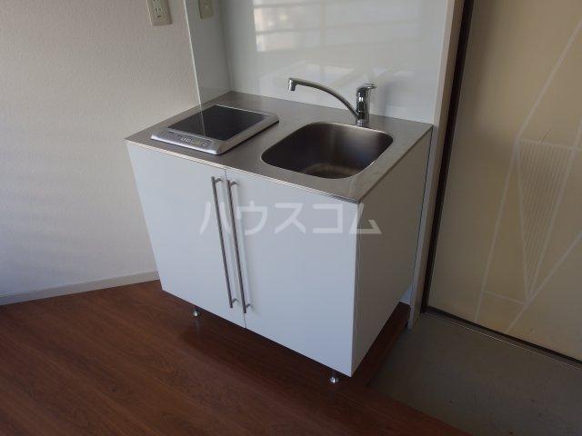 ラトゥールアンフィニ 601号室のキッチン