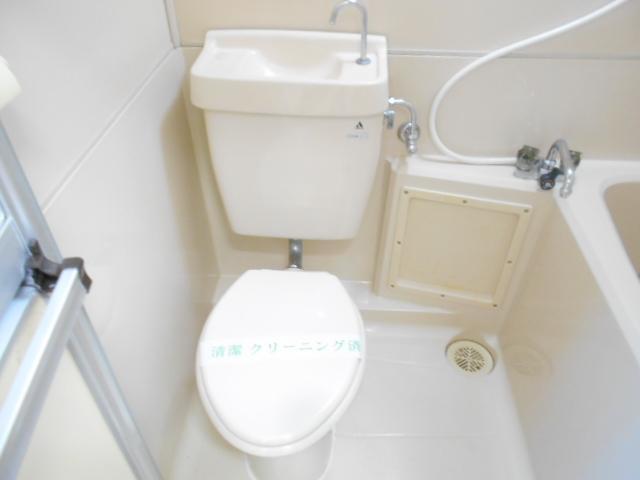 加野ハイツ 201号室のトイレ