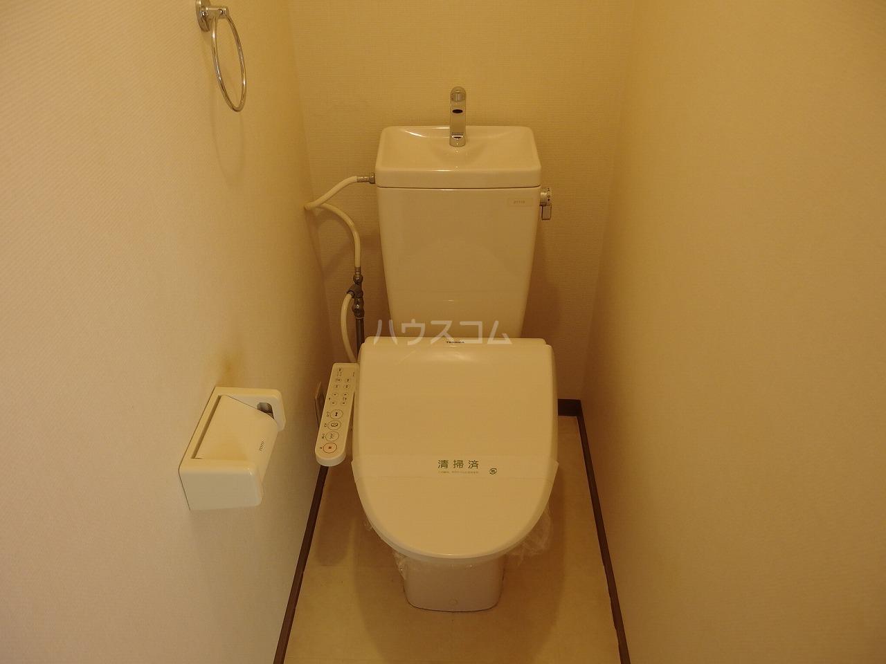 ヴランドール桜ヶ丘 306号室のトイレ