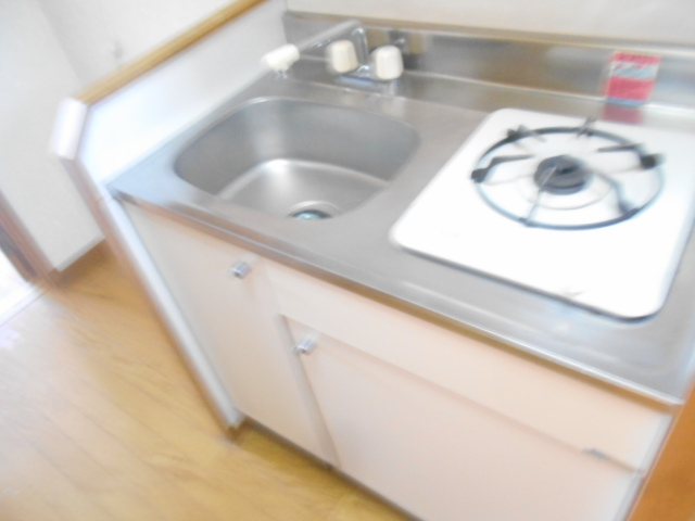 ソミュール百草Ⅰ 102号室のキッチン