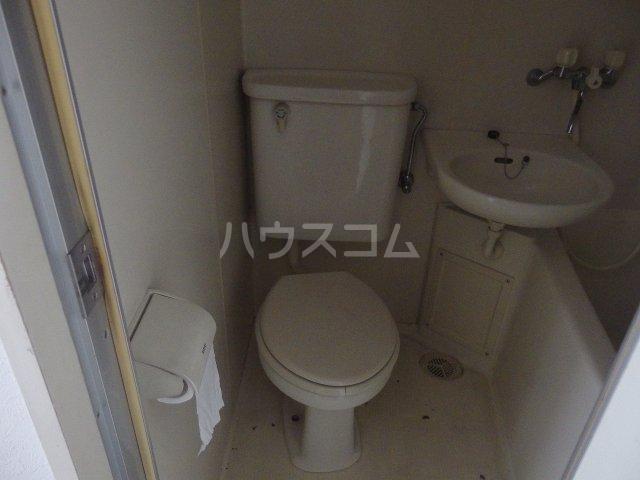 ライオンズシティ聖蹟桜ヶ丘 111号室のトイレ