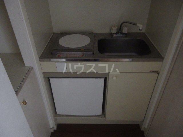 ライオンズシティ聖蹟桜ヶ丘 111号室のキッチン