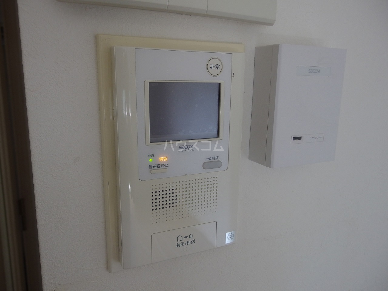 ライオンズシティ聖蹟桜ヶ丘 111号室のセキュリティ