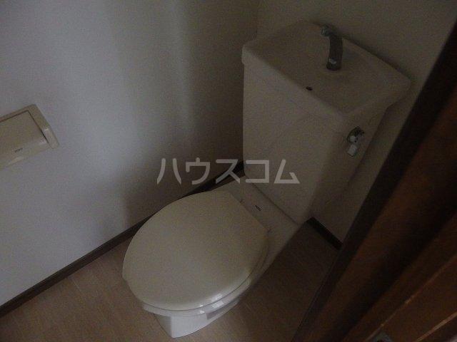 フォレストピアA 106号室のトイレ