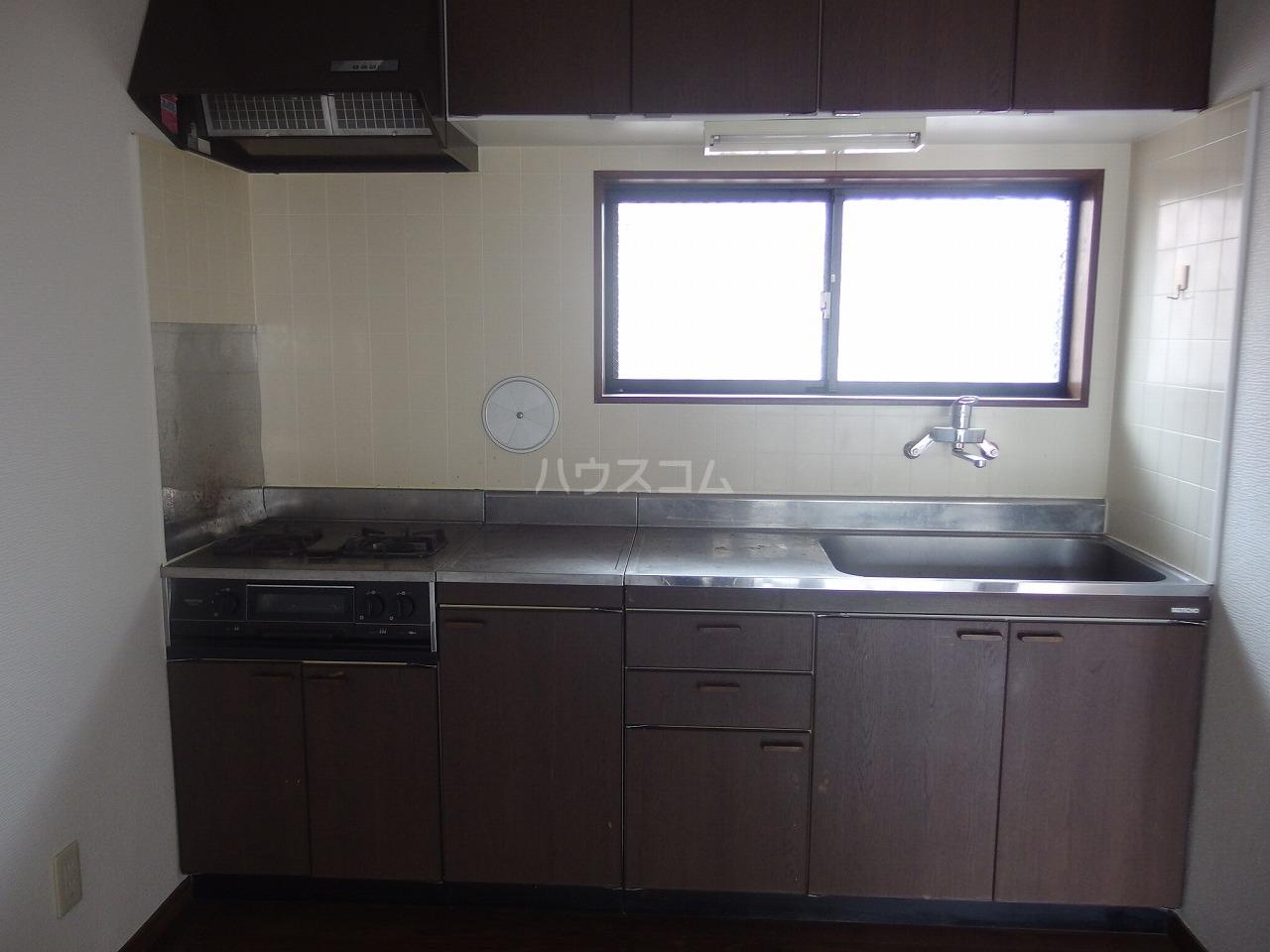 フォレストピアA 106号室のキッチン